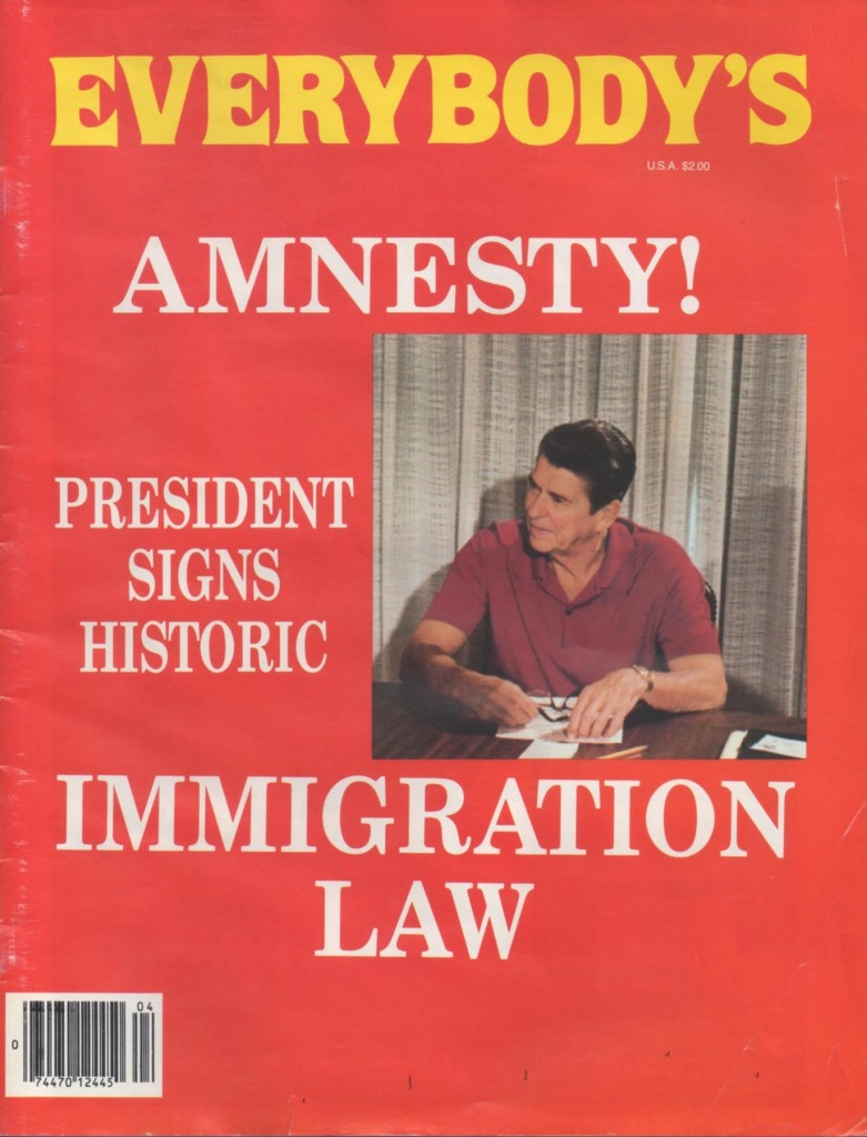 the provision of amnesty for undocumented immigrants in america The united states now have their own us amnesty policy that can grant illegal immigrants a us pardon this amnesty policy is based on the fact that immigration is a large part of the us.