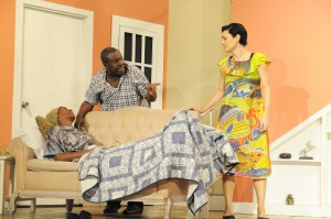 "Oliver Samuels, Maylynne Lowe  and Barbara McCalla in ""Divorce Papers"""
