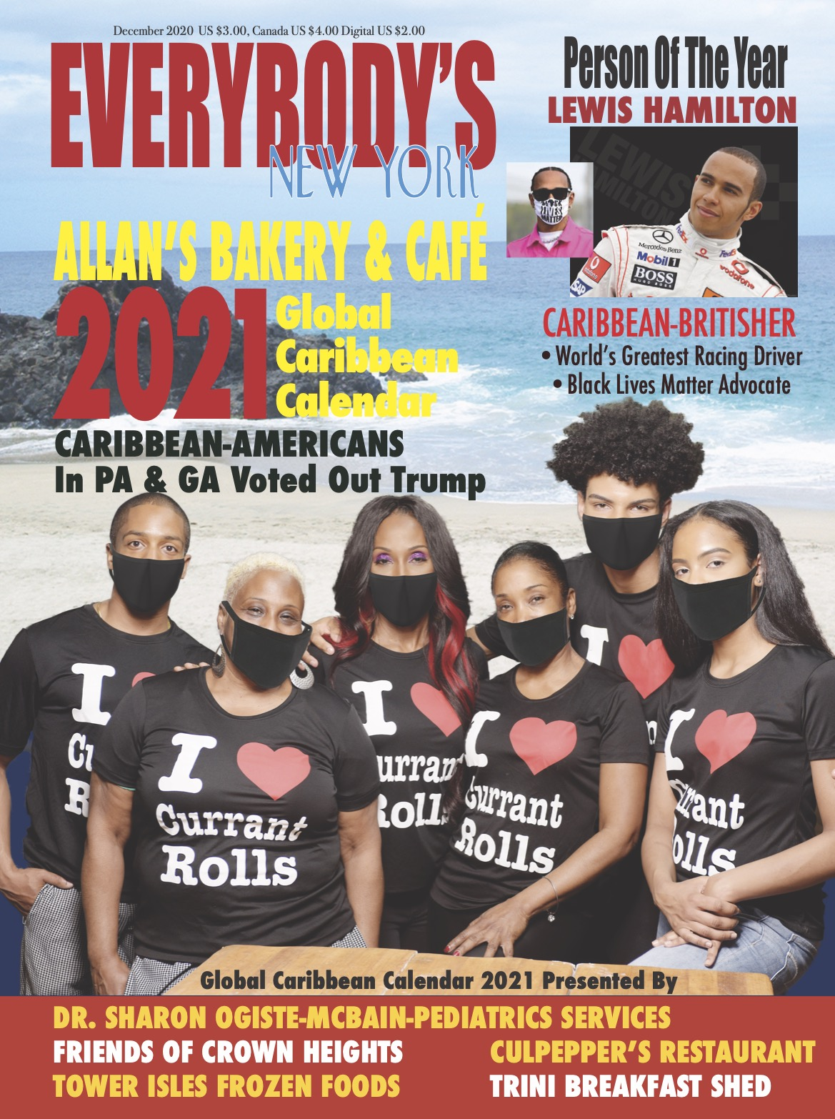 2021 Global Calendar Cover