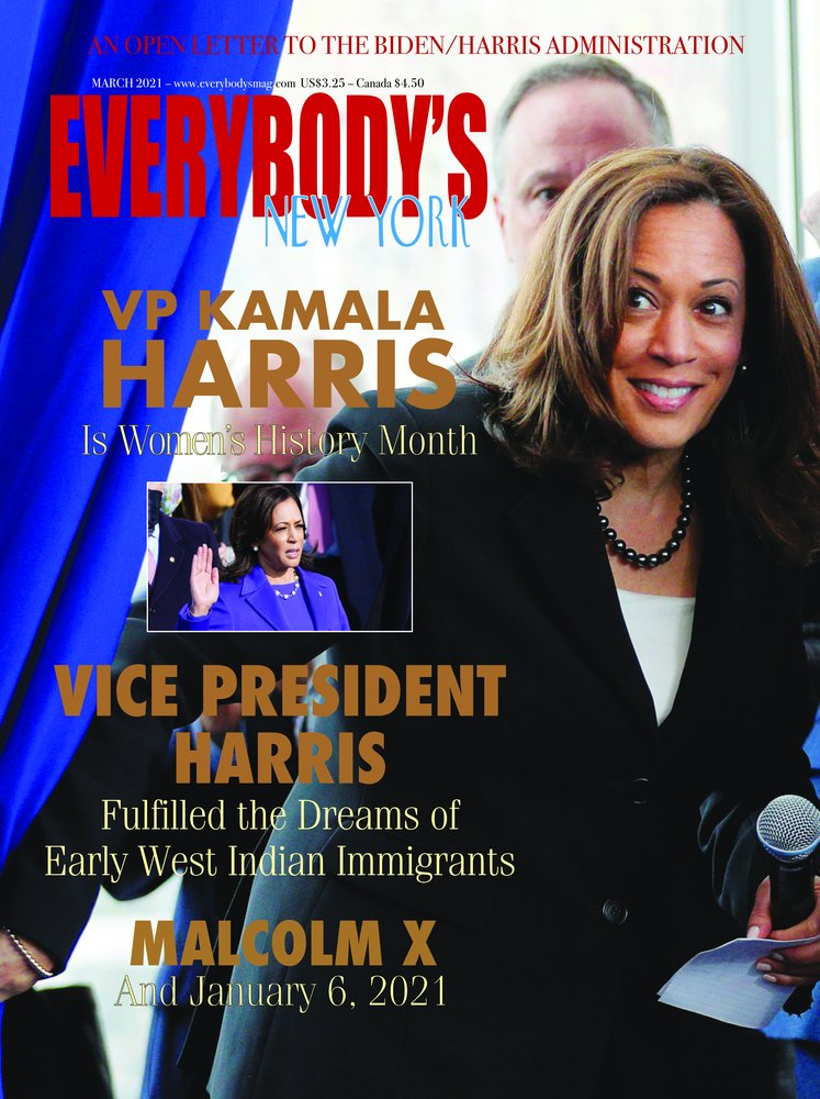 Kamala Harris 2021 February March Issue